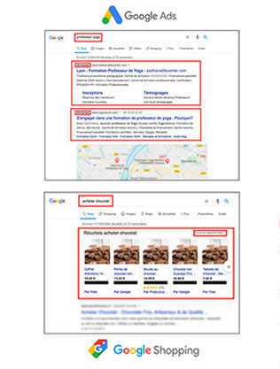google ads shopping mistral agency