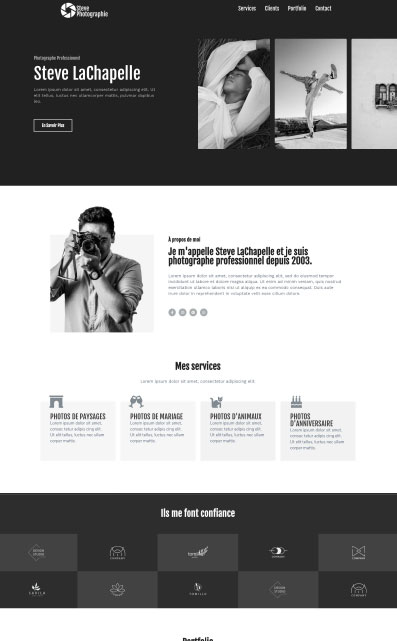 site catalogue photographe mistral agency