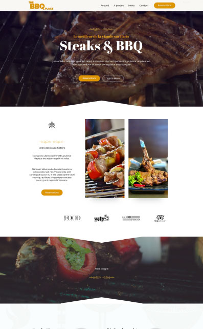 site catalogue restaurant mistral agency