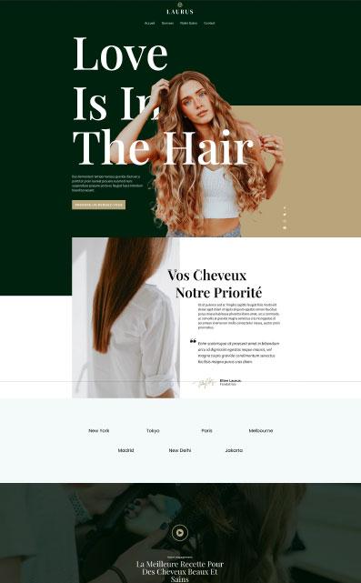 site catalogue salon coiffure